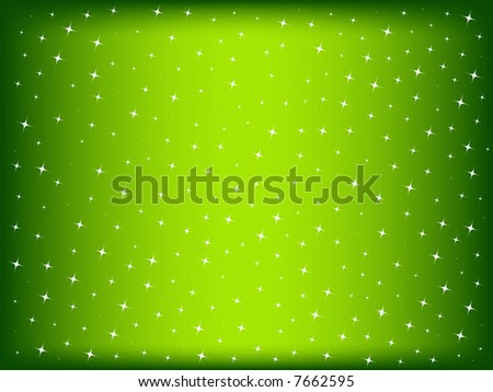 retro christmas background with star lights - stock photo