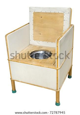 Retro Commode Chair - stock photo