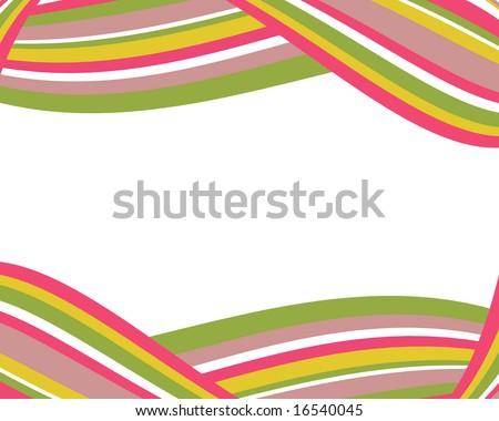 Colorful Striped Border Stripes Border Stock