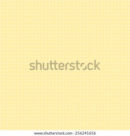 Retro dots on yellow background. Abstract geometric seamless pattern or texture. For desktop wallpaper, web design, cards, invitations, wedding or baby shower albums, arts and scrapbooks. Packing. - stock photo