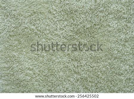 retro green shag carpet