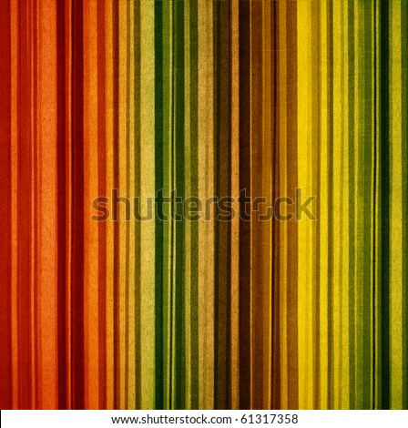 retro grunge striped of fabric - stock photo
