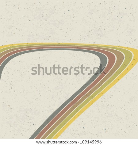 Retro lines abstract background. Raster version, vector file available in portfolio - stock photo