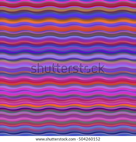 Retro pattern bright pink background, raster version