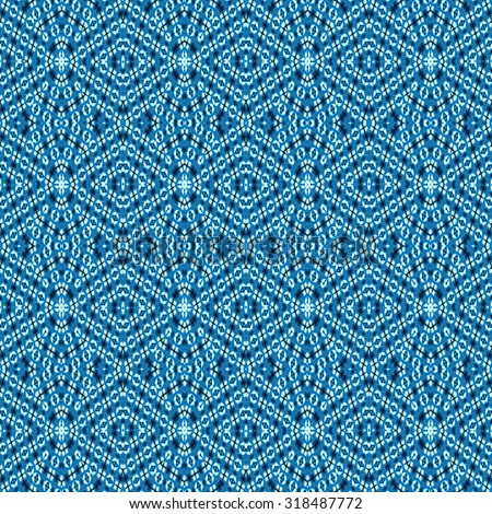 Retro pattern of blue abstract seamless geometric  background , can be used for pattern fills, web page background, surface textures, decorative wallpaper.  - stock photo