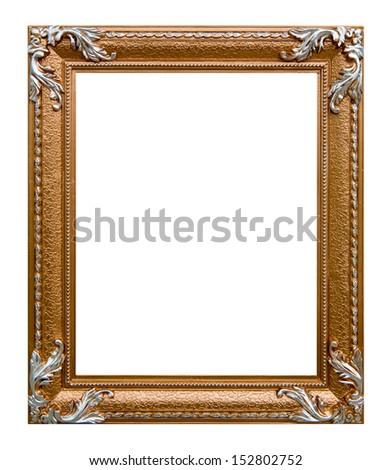 Retro photo frame - stock photo