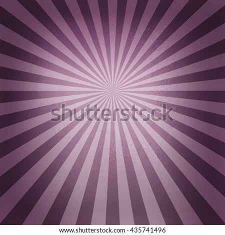 retro pink sunburst pattern, old abstract background design, radial lines with bright center and dark border - stock photo