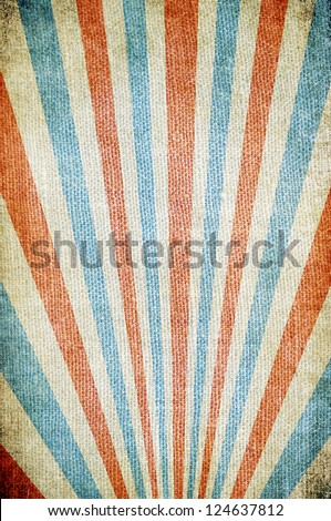 Retro poster - stock photo