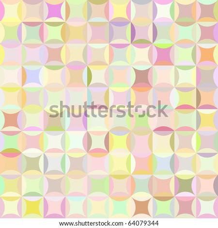 Retro raster pattern - stock photo