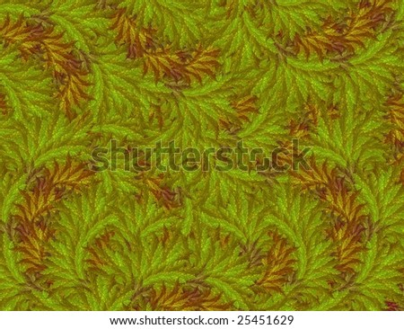 retro seamless floral background - stock photo