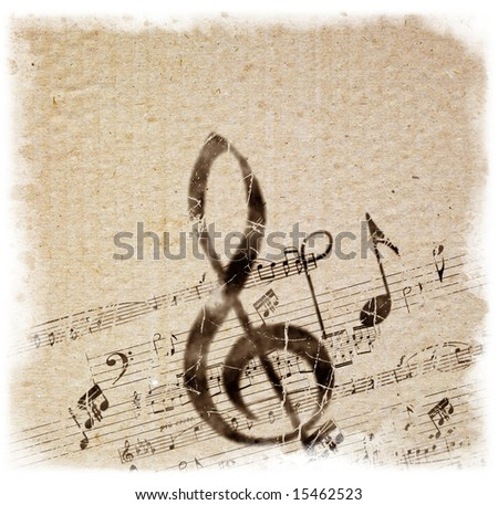 Retro Style Music Background. Background Series - see more in more portfolio. - stock photo