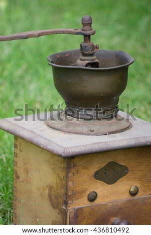 Retro styled Coffee mill