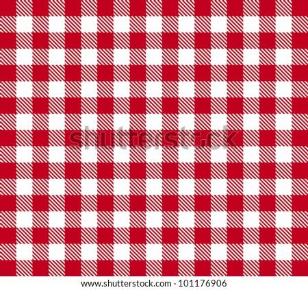 Retro tablecloth texture - stock photo