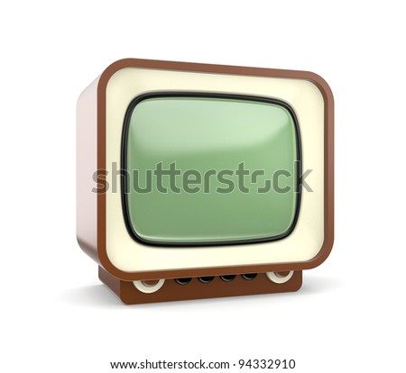 Retro TV. Look more TV in my gallery