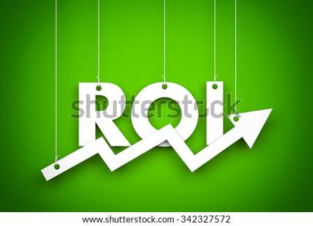 Return on investment  - stock photo