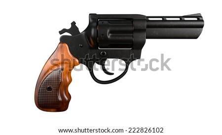 revolver - stock photo