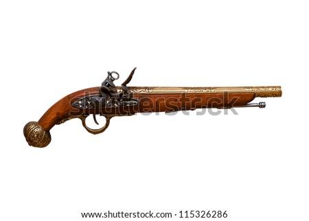 Revolver Musketeers - stock photo