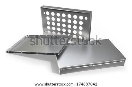 RF shielding enclosure - stock photo
