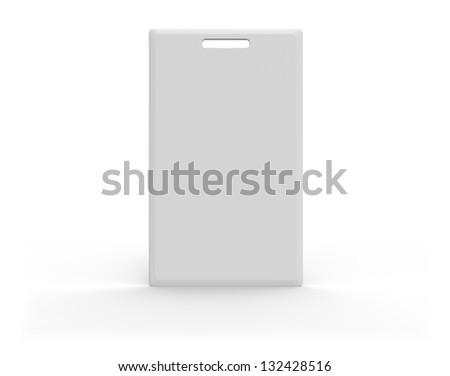 RFID card - stock photo
