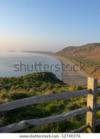 Rhossili at sunset