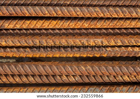 ribbed bar  - stock photo