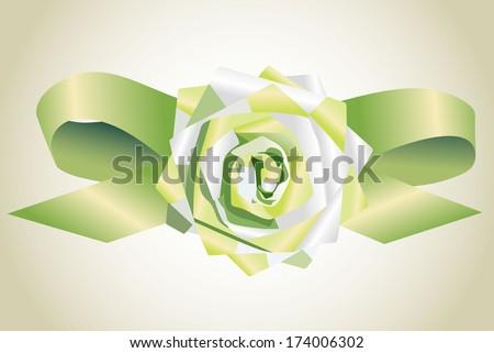 ribbon. - stock photo