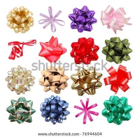 Ribbon bows - stock photo
