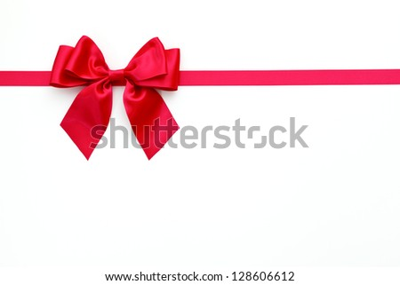 Ribbon, Christmas - stock photo