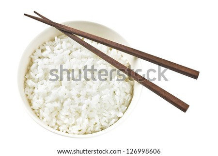 Rice Bowl - stock photo