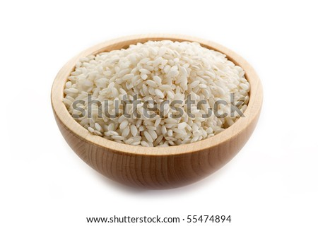 rice on bowl - stock photo