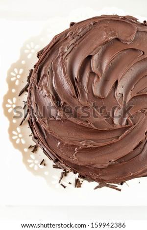 Rich Chocolate Cake - stock photo