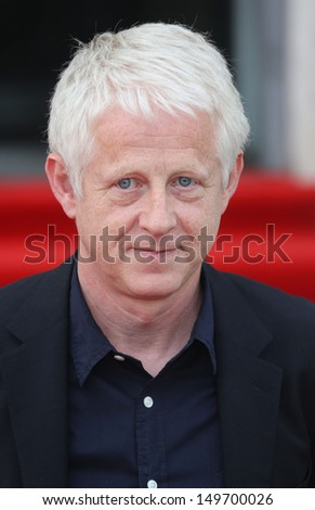 Richard Curtis arriving for the About Time UK Premiere held at Somerset House, London. 08/08/2013