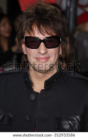"Richie Sambora at the Los Angeles Premiere of ""The Twilight Saga: New Moon"" held at the Mann Village Theater in Westwood, California, United States on November 16, 2009."