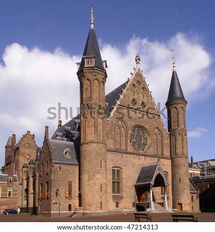 Ridderzaal, the Hague - stock photo