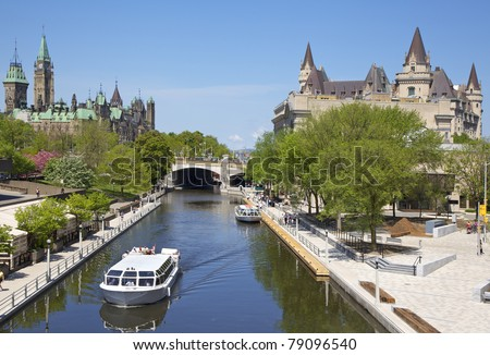 rideau canal stock images royalty free images vectors shutterstock. Black Bedroom Furniture Sets. Home Design Ideas