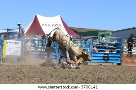 Rider Down - stock photo