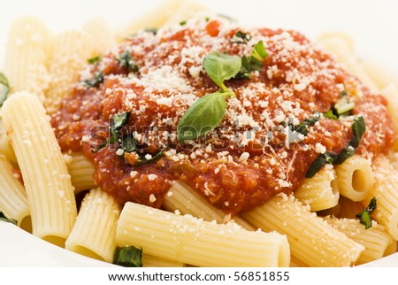 Rigatoni Napoli - stock photo