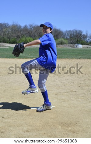 right handed baseball pitcher