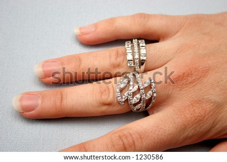 ring and hand