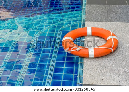 Safety Equipment Life Buoy Rescue Buoy Stock Photo 483142393 Shutterstock