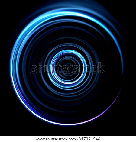 ring lens flare effect is simple to use add on background - stock photo