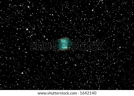Ring Nebula - stock photo