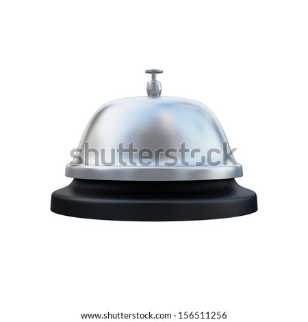 Ring Service Alarm isolated on White background