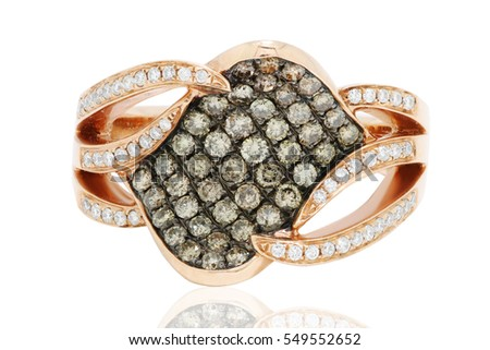 Ring with black and white diamonds, wedding jewelry anillo con diamantes negros y blancos , joyeria de bodas