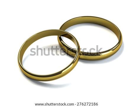 Rings - stock photo