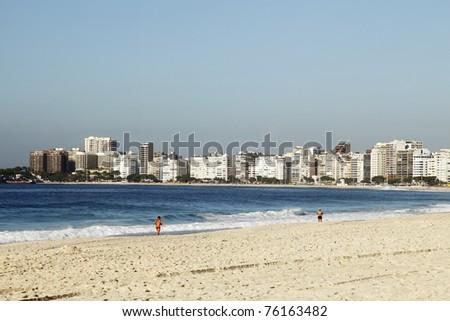 Rio de Janeiro, Copacabana - stock photo