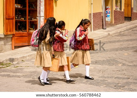Ecuadorian Girls