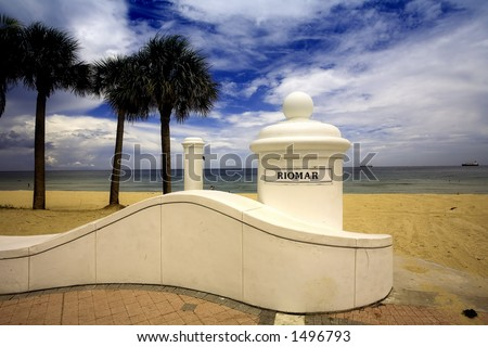 Riomar Ft. Lauderdale Beach, FL USA - stock photo