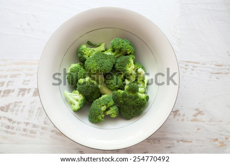 Ripe Broccoli Cabbage - stock photo