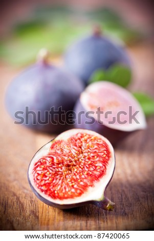 Ripe fresh Fig
